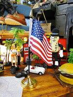 星条旗のミニフラッグ+スタンド付き(ヘヴィータイプ)■アメリカ雑貨アメリカン雑貨のれんおしゃれロング暖簾インテリア雑貨ポップモダン新生活キッチンカッコイイ男の部屋こだわり派が夢中になる人気のアメリカ雑貨屋