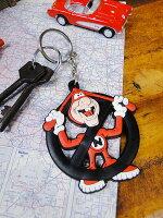 カンパニーキーチェーン(ドミノピザノイド)■プレゼントにも最適♪かわいいアメキャラで楽しくオシャレに演出☆アメリカン雑貨キーホルダーキーリング鍵人気のアメリカ雑貨屋ブランドファッション小物ロゴ