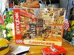 オールドアメリカンシーンのジグソーパズル 500ピース(アンティークショップ) ■ アメリカ雑貨 アメリカン雑貨
