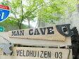 男の隠れ家のノコギリ型ウッドサイン ■ 木製 ウッド アメリカ 看板 サインプレート サインボード アンティーク アメリカン雑貨 アメリカン雑貨