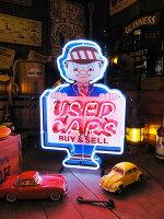 【全国送料無料】USEDカーのネオン管■こだわるお店のアイキャッチ!男の部屋アメリカ雑貨屋アメリカン雑貨ネオンサイン看板人気おしゃれカッコイイ壁掛け壁飾り照明個性派