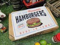 アメリカンダイナーランチョンマット(ハンバーガー)■アメリカ雑貨アメリカン雑貨生活雑貨こだわり派が夢中になる!アメリカ雑貨のテーマパークランチマットアウトドア