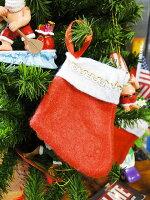 ミニクリスマスソックス10個入り■飾りインテリア装飾ガーランドメリークリスマスディスプレイxmasデコレーションツリーパーティーグッズオーナメントアメリカン雑貨プレゼントギフト人気