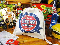 カルチャーマートのキンチャク袋(No.1)■アメリカ雑貨アメリカン雑貨