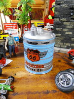 フィリップス66のヴィンテージオイル缶のダイキャストバンク1/4スケール■アメリカ雑貨アメリカン雑貨