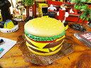 ポップで賑やかなシーンが完成! ハンバーガーコンテナ ■ アメリカ雑貨 アメリカン雑貨 小物入れ 生活雑貨の写真