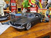 Jada 1967年シェルビーGT500のダイキャストモデルカー 1/24スケール(ブラック) ■ アメリカ雑貨 アメリカン雑貨 アメ車 インテリア こだわり派が夢中になる人気のアメリカ雑貨屋 小物 モデルカー 正規品 おしゃれ ガレージグッズ ミニカー