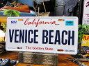 カリフォルニア州のライセンスプレート(ベニスビーチ) ■ ナンバープレ...