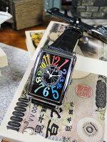 天才時計師フランク三浦の腕時計初号機(改)通常サイズ(レインボーブラック)■アメリカ雑貨アメリカン雑貨おもしろ雑貨おもしろグッズ人気おしゃれ腕時計メンズ黒通販ウォッチ