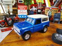 1973年フォード・ブロンコのミニカー1/32スケール(ブルー)■アメリカ雑貨アメリカン雑貨