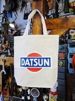 ダットサンのトートバッグ(ホワイト)■アメリカ雑貨アメリカン雑貨アメカジ鞄メンズバッグおしゃれ