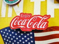 コカ・コーラブランドアクリルマグネット(エンジョイ)■コカコーラグッズ雑貨グッズブランドCoca-Colaアメリカ雑貨アメリカン雑貨