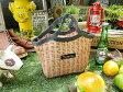 籐カゴみたいなクーラーバッグ ランチバッグ ■ アメリカ雑貨 アメリカン雑貨 アウトドア ピクニック バーベキュー