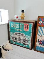 レトロガレージファーニチャー(キャデラック/6ドロワーチェスト)■アメリカ雑貨アメリカン雑貨