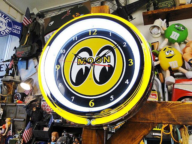 ネオン時計 『ROUTE66』 (ネオンクロック) アメリカ雑貨、海外、インテリア、バー、ダイナー、アメリカン、世田谷ベース ネオン時計 ルート66