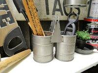 ハンギング・ドラム缶ポット(2連タイプ)■アメリカ雑貨アメリカン雑貨アメリカ雑貨インテリア