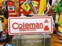 コールマンのステッカー(ランタンロゴ) ■ アメリカ雑貨 ア...