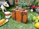 昔の旅行カバンみたいなランチボックス ■ アメリカ雑貨 アメリカン雑貨