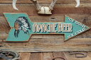 アパッチビアーアローカットの木製看板 ■ 木製 ウッド アメリカ 看板...