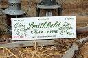 チーズボックスのミニウッドサイン(スミスフィールドA) ■ アメリカ雑...