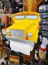 クラシックカーのトイレットペーパーホルダー(スクールバス) ■ アメリ...