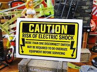 電気ビリビリ注意の警告ステッカーバッドアス・ステッカー#033■自分仕様だから愛着も強くなる!こだわり派が夢中になる人気のアメリカ雑貨屋ステッカー