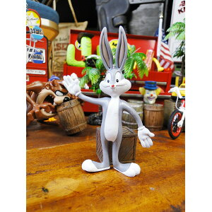 Poupée flexible de Looney Tunes (Bags Bunny) ■ Produits divers américains Produits divers américains Personnage américain Comics américains