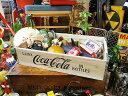 コカ・コーラブランド ウッドクレート ナチュラル ■ コカコーラグッズ 雑貨 グッズ ブランド Coca-Cola アメリカ雑貨 アメリカン雑貨 コーラ 置物 インテリア おしゃれ 人気 小物 こだわり派が夢中になる! 人気のアメリカ雑貨屋 木箱 小箱 ウッドボックス