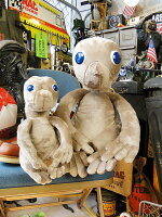 E.T.のアンティークぬいぐるみ復刻版(2サイズセット)■アメリカ雑貨アメリカン雑貨
