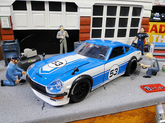 車, ミニカー・トイカー Jada 1972 240Z 124