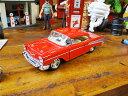 1957年シボレー・ベルエアのダイキャストミニカー 1/40スケール(レッド) ■ アメリカ雑貨 アメリカン雑貨 アメ車 こだわり派が夢中になる人気のアメリカ雑貨屋 小物 モデルカー 正規品 おしゃれ ガレージグッズ ミニカー 西海岸風