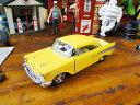 1957年シボレー・ベルエアのダイキャストミニカー 1/40スケール(イエロー) ■ アメリカ雑貨 アメリカン雑貨 アメ車 こだわり派が夢中になる人気のアメリカ...