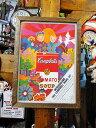 ポスターフレーム(キャンベルスープ/ポップアート) ■ アメリカ雑貨 ...