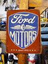 フォードモータースのブリキ看板(Since 1903) ■ アメリカ雑...