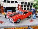 Jada 映画「ワイルドスピード」のダイキャストモデルカー 1/24スケール(ドム/シェビー・シェベルSS 1970 レッド) ■ ミニカー アメ車 アメリカ雑貨