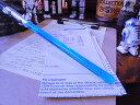 スターウォーズのライトセーバーペン LEDライト搭載(ルーク・スカイウォーカー) ■ パーティーが盛り上がるユニーク雑貨で差を付けちゃえ♪ アメリカ雑貨 アメリカン雑貨 ジョーク雑貨 プレゼント ギフト 生活雑貨 グッズ