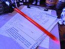 スターウォーズのライトセーバーペン LEDライト搭載(ダースベイダー) ■ パーティーが盛り上がるユニーク雑貨で差を付けちゃえ♪ アメリカ雑貨 アメリカン雑貨 ジョーク雑貨 プレゼント ギフト 生活雑貨 グッズ