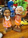 ハワイの妖精メネフネのダッシュボードドール(2体セット) ■ アメリカ雑貨 アメリカン雑貨