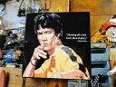 ブルース・リーのポップアートフレーム ■ アメリカ雑貨 アメリカン雑貨...