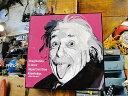天才科学者アインシュタイン博士のポップアートフレーム ■ アメリカ雑貨...