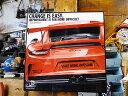 ポルシェのポップアートフレーム(911 GT3/LAVA O...