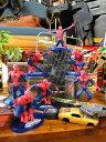 スパイダーマンのPVCフィギュア 7体アソートセット ■ アメリカン雑貨 アメリカ雑貨 アメキャラ アメコミ