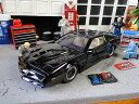 Jada 海外ドラマ「ナイトライダー」 K.I.T.T.のダイキャストモデルカー 1/24スケール(1982年ポンティアック・ファイヤーバード) ■ ミニカー アメ車