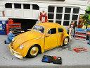 Jada トランスフォーマー 映画「バンブルビー」ビートルのダイキャストモデルカー 1/24スケール(チャーリーフィギュア付き)■ ミニカー アメ車 アメ