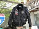 クレイスミスのフライトジャケット(ブラック)