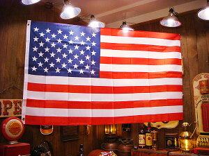 星条旗があるだけで、空間が一瞬でアメリカ化します!星条旗のナイロンフラッグ(3×5) ★アメ...
