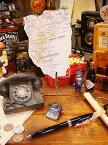 ダルトン クラシックテレフォンのメモホルダー ■ アメリカ雑貨 アメリカン雑貨 ダルトン