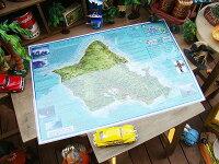 ハワイ・ノースショアのサーフィンマップ