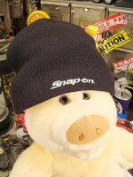 スナップオンのニット帽(ブラック)