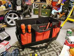 高級ツールブランド、スナップオンの収納バッグ!スナップオン メカニックボックスツールバッ...